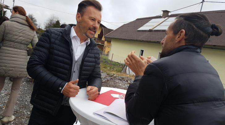 Zahlreiche Häuslbauer informierten sich heute beim Passivhaus-Infotag in Gödersdorf.