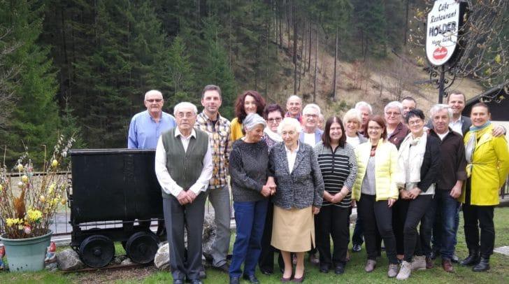 Der Jubilar Richard Köchl feierte seinen 90. Geburtstag.