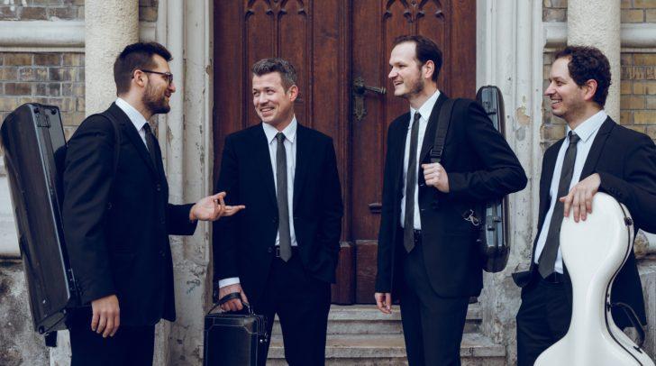 Vier virtuose Musiker gastieren in Villach.