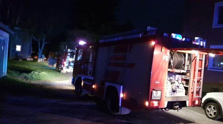 Die Feuerwehr steht derzeit im Einsatz