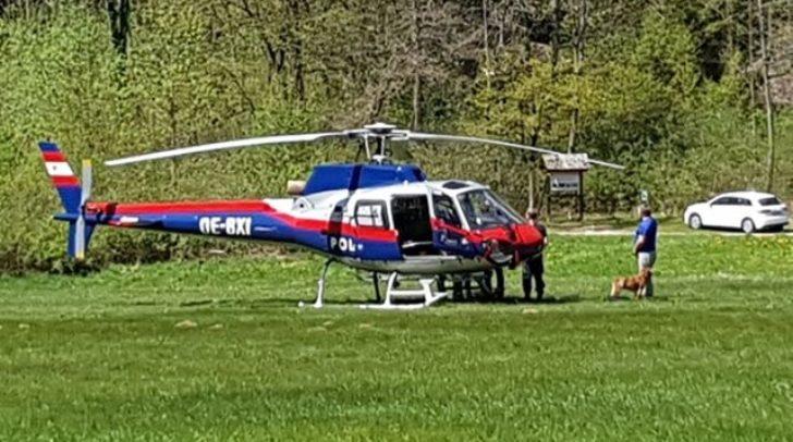 Aufgrund eines tödlichen Alpinunfalles gab es heute einen Einsatz in Villach-Warmbad.
