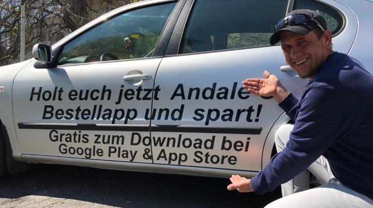 Cooler Service: Andreas Frühstück liefert dir deine Lieblingsgetränke nach Hause