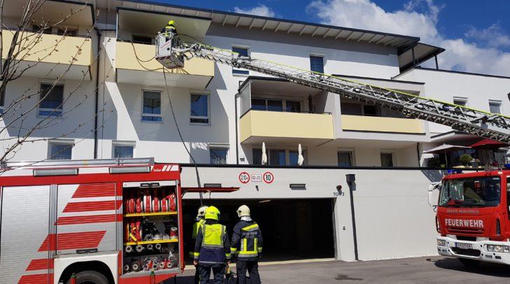 Der Brand brach im 3. Stock aus.