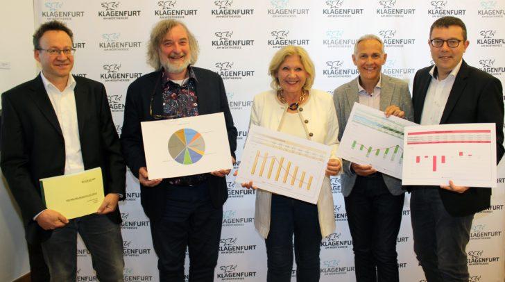 Die Reformpartner im Rathaus präsentierten das erfreuliche Ergebnis des Rechnungsabschluss 2018