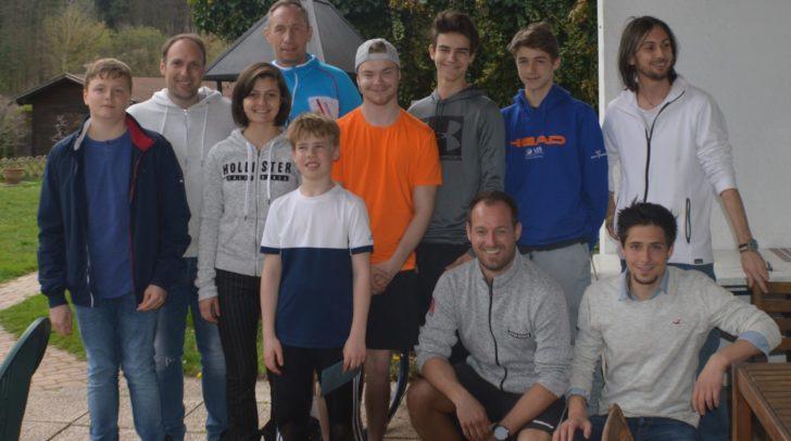 Spaß am Sport: Tennisbegeisterte aus allen Altersgruppen waren beim ITN Turnier mit dabei.