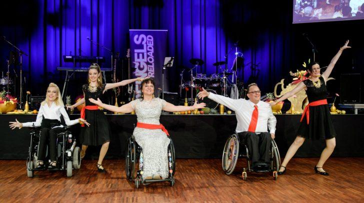 Die Eröffnung wurde vom Kärntner Rollstuhltanzverein gestaltet