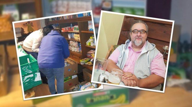 Anton Georg Bauer und sein Team retten kiloweise Lebensmittel vor dem Müll!