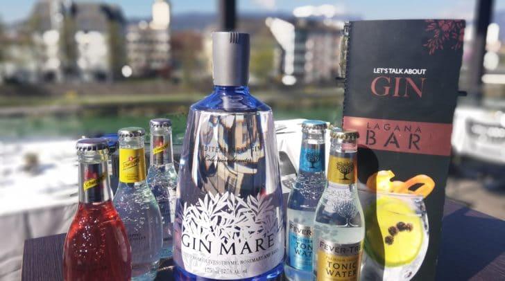 Gewinnt 1 XXL Flasche GIN MARE inkl. fünf Beigetränken!