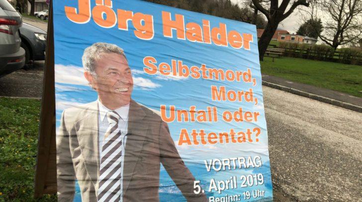 Mit der Veranstaltung wollte man keine Verschwörungstheorien schüren, so die BZÖ-Kärnten, sondern Fakten zum Unfalltod Haiders präsentieren.