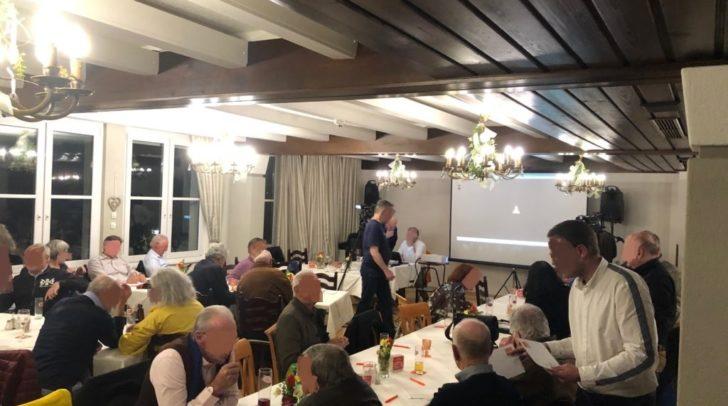 Der Gasthof Pacher in Villach war am Vortragsabend gut besucht.