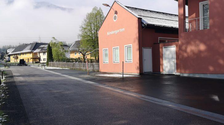 Die Sechsjährige flüchtete sich mit ihrer Freundin in den Kindergarten Feistritz im Gailtal.