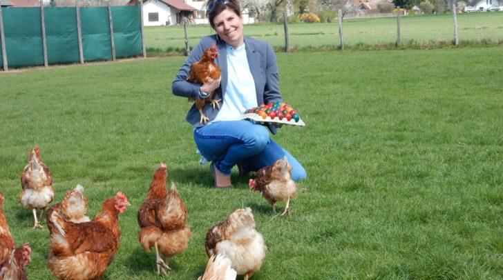 Beim Karawanken Freilandei Bauernladen in Faak am See gibt es gesunde Eier von glücklichen Hühnern.