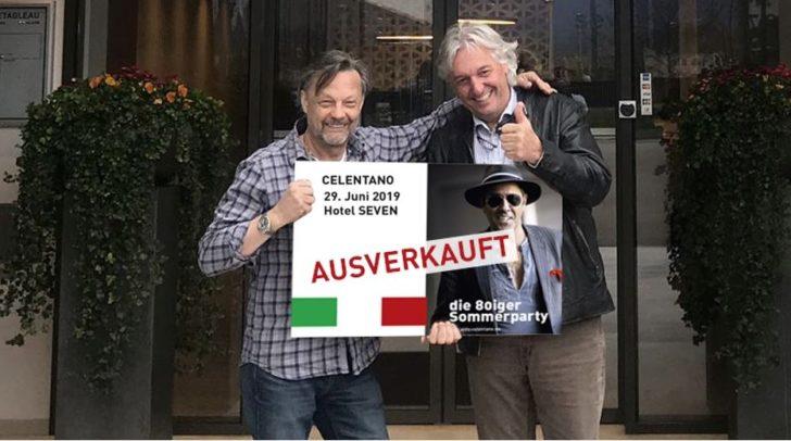Karl Dabringer und Rene Tarmastin von den KIWANIS Villach freuen sich riesig: Das Charity Event ist restlos AUSVERKAUFT!