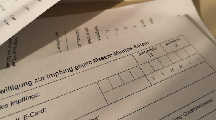 Heute wurden drei neue Maser-Verdachtsfälle gemeldet.