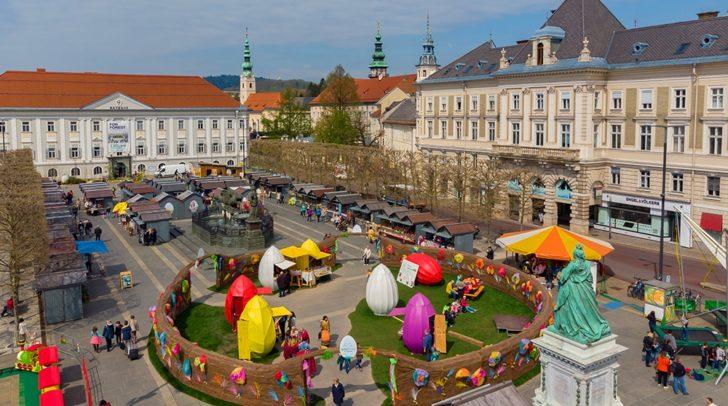 Über 30 Verkaufsstände waren beim heurigen Ostermarkt mit dabei