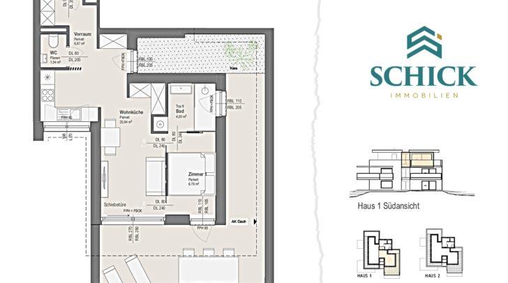 In der 40 m² großen Penthousesuite fühlst du dich wie im Luxus-Hotel.