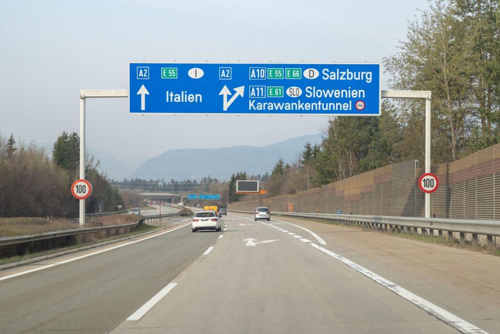 Verkehr Karawankentunnel