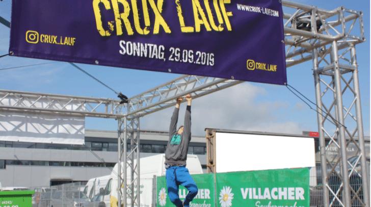 Zeig was du kannst beim Crux-Lauf in Villach!