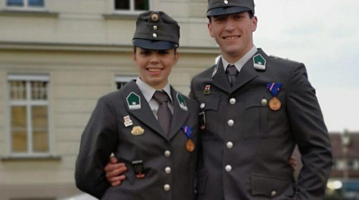 Die Feuerwehren Dolintschach und Kerschdorf/Velden gratulieren Daniela und Michael recht herzlich und wünschen ihnen alles Gute und viel Erfolg auf ihrem weiteren Lebensweg.