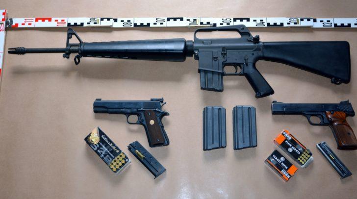 Die Herkunft der Waffen muss noch geklärt werden.