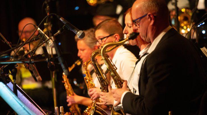 Die Big Band Company, eine kreative Mischung von Musikern aus unterschiedlichen Bereichen.