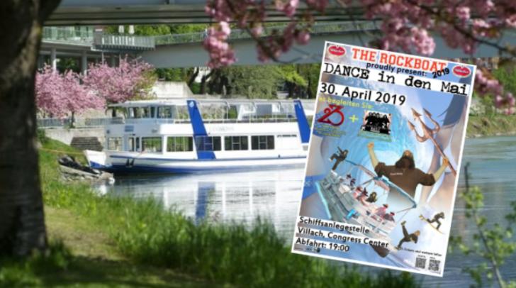 Rockboat 2019: Am 30. April macht die MS Landskron wieder die Drau unsicher