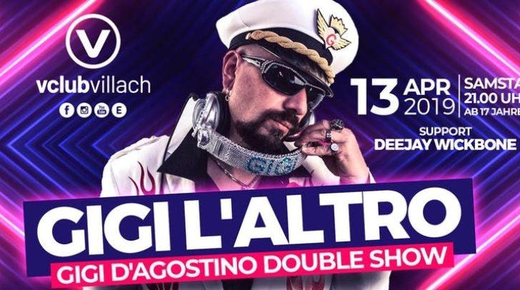 """Der italienische DJ sorgt mit seiner """"GIGI D´Agostino Double Show"""" für ordentlich Stimmung."""