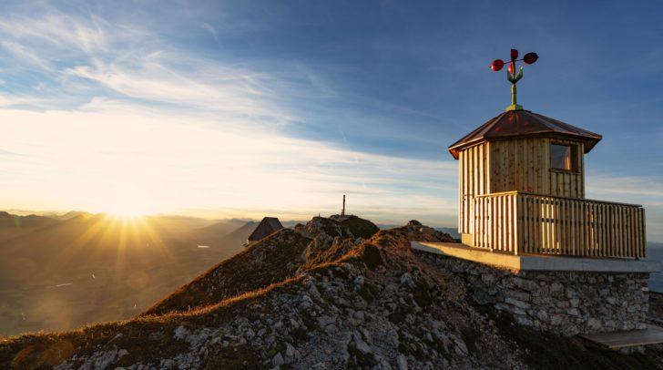 Feierliche Eröffnung der Windhütte mit Wandertag und ORF-Frühshoppen