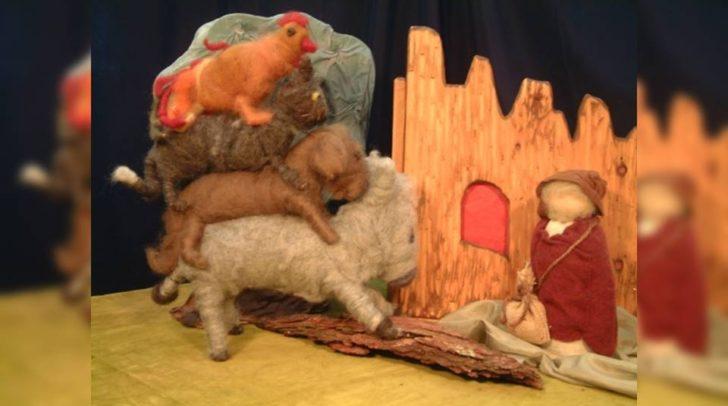Die Märchenbühne kommt am 24. April um 16.00 Uhr wieder nach Villach. Diesmal mit dem Stück
