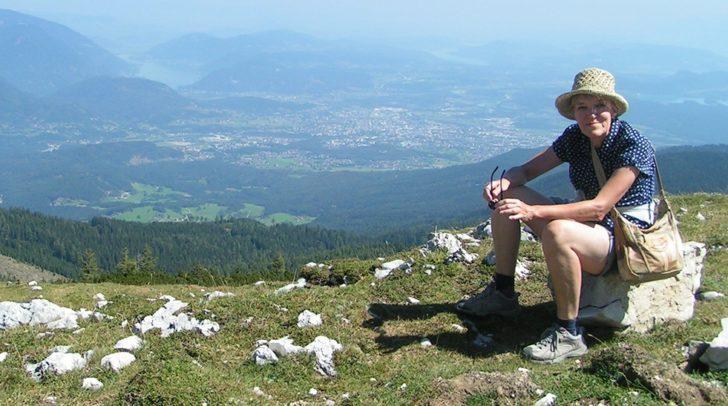 Ihre Inspiration holt sich die Niederländerin unter anderem in den Bergen Kärntens