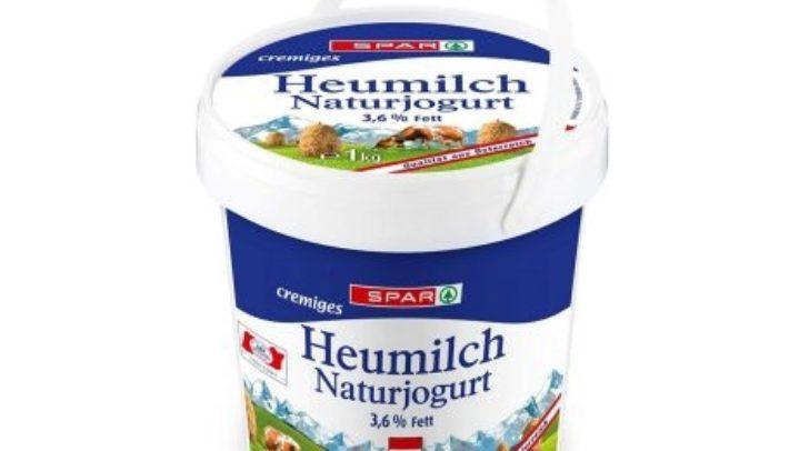 Betroffen sich diese 1 kg Heumilchnaturjoghurts mit dem Ablaufdatum 25. April
