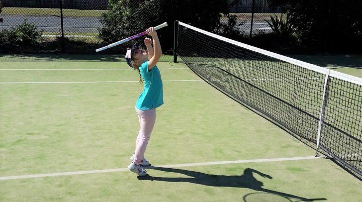 Beim Sportunion Tennis Kids Day können Kinder sich im Tennis erproben.