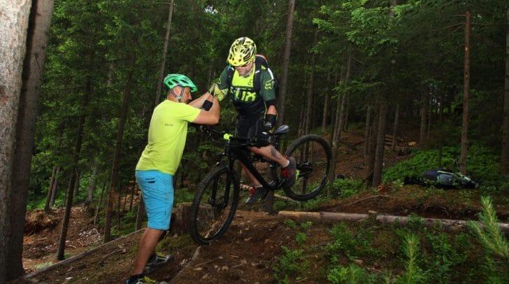 Mountainbike Trailworkshop am Faaker See