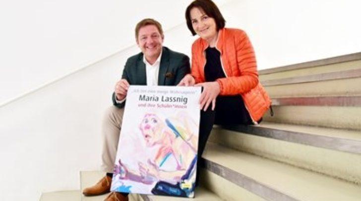 Maria Lassnig wird mit einer ganz besonderen Ausstellung gefeiert, so Albel und Kapeller.
