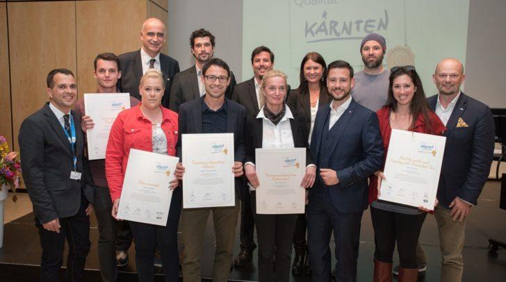Auszeichnungen für Top-Betriebe.