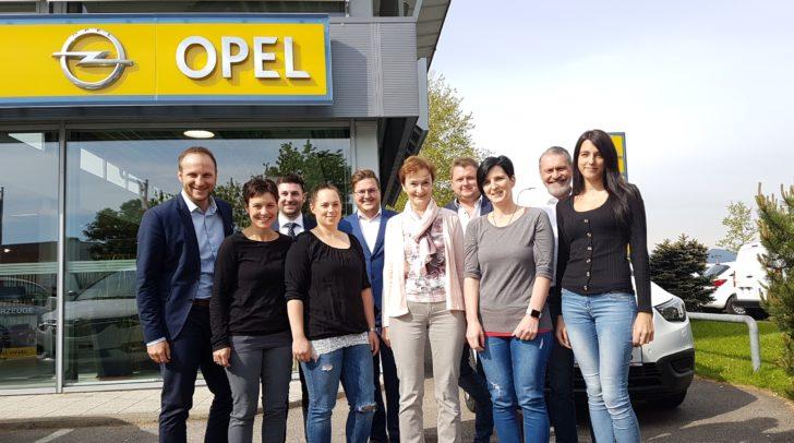 Das Team von Opel Eisner freut sich schon auf euch!