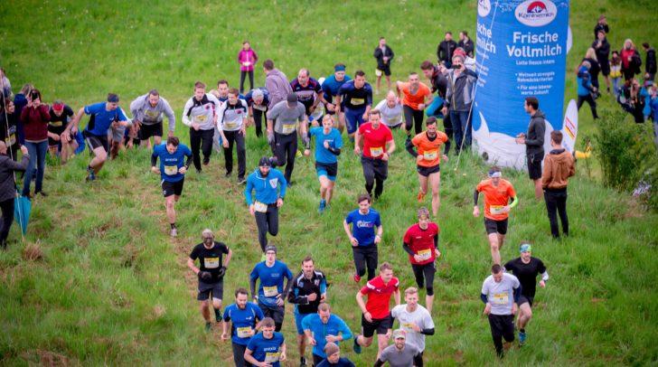 Insgesamt über 1.100 Sportbegeisterte überwanden am 30. April die Hindernisse auf der Schleppe Alm in Klagenfurt.
