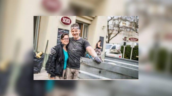 Inhaber Rudy Kropfitsch mit seiner Frau Ines
