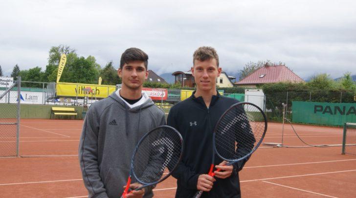 Marko Andrejic und Filip Misolic kämpften sich mit sensationellem und beherztem Tennis ins Halbfinale.
