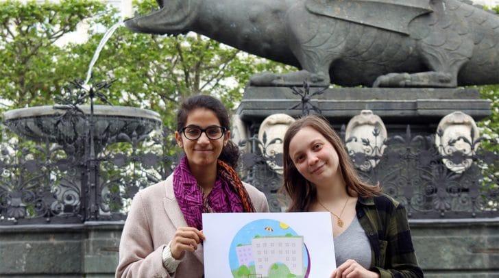 Junge Linke wollen mit Gemeindebau Klimakatastrophe stoppen.