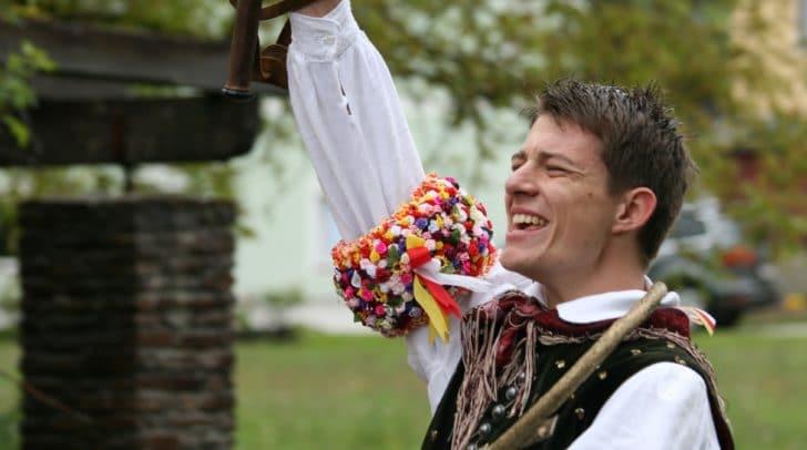 Florian Koller holte sich das Kranzl.