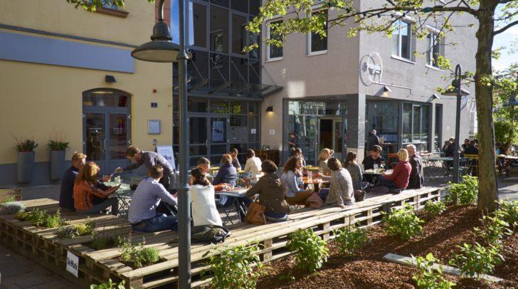 Am 17. Mai findet die Eröffnung des Gastgartens von magdas Lokal statt.