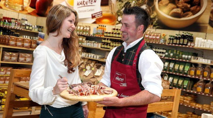 Regionalen Köstlichkeiten gibt es bei den 38 Genussland Handelspartnern.