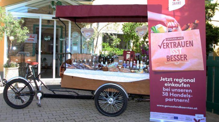 Das Genussradl geht auf Tour und macht Halt in Klagenfurt.
