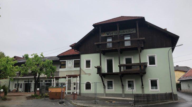 Aus dem ehemaligen Wirt in Judendorf wird eine Kindertagesstädte