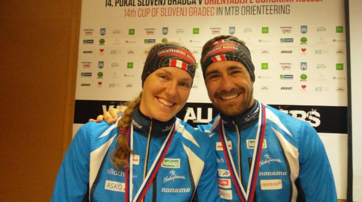 Marina Reiner und Kevin Haselsberger konnten sich für die Europameisterschaft qualifizieren.