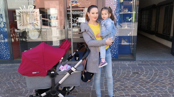 Sara und ihre Kinder machen am Muttertag einen Ausflug.
