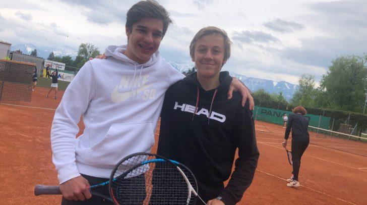 Doppel-Partner: Tobias Smoliner und Niklas Rohrer