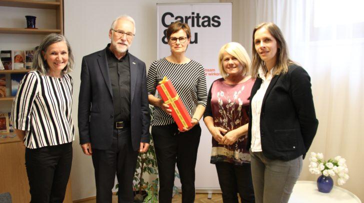v.l.n.r.: Ursula Luschnig, Josef Marketz, Janette Suntinger-Schneeweiß, Gerda Sandriesser und Marion Fercher.