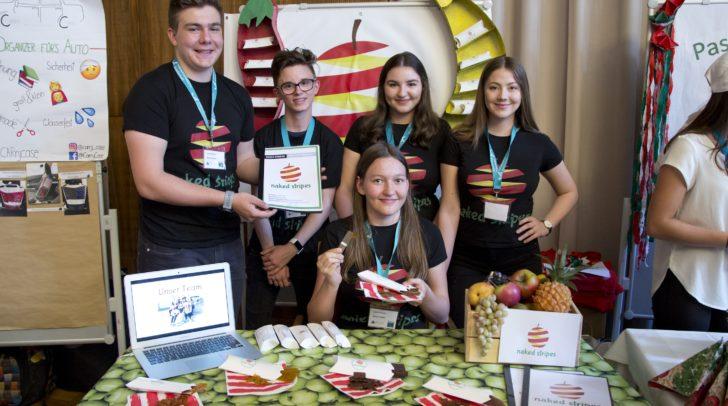 Die Gewinner des Vorjahres: Die Junior Company NAKED STRIPES des BG/BRG Mössingerstraße.